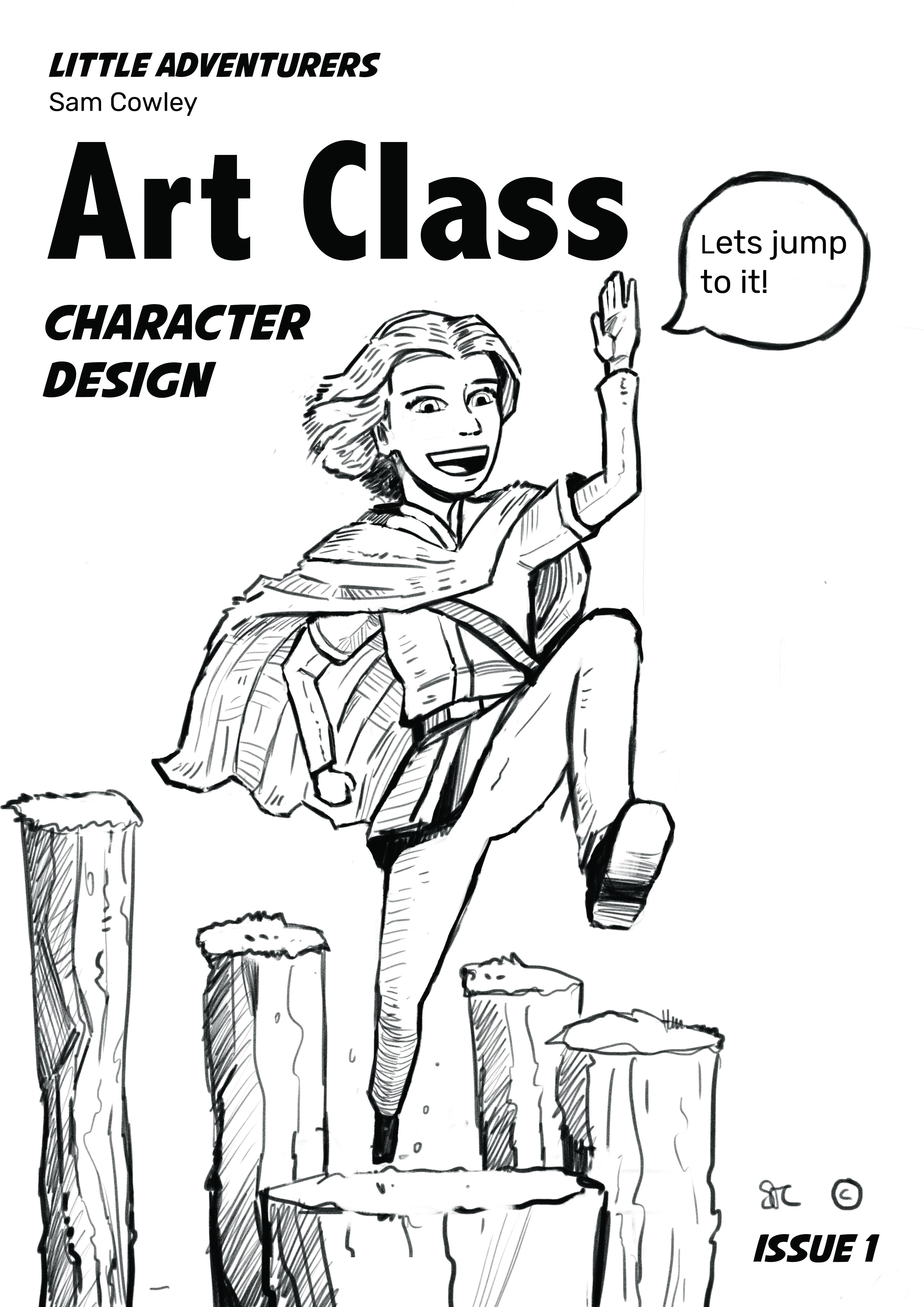 Art class cover week 1 copy