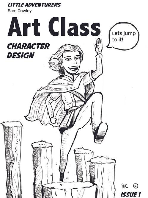 Little Adventurers, Downloadable Art exercises Week 1