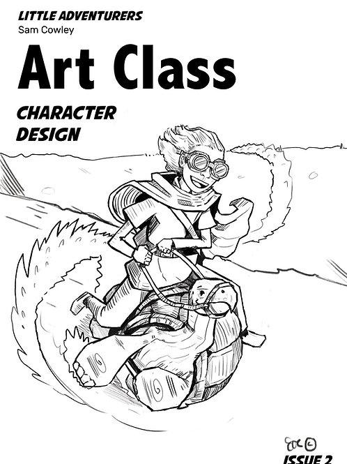 Little Adventurers Downloadable Art Class Issue 2