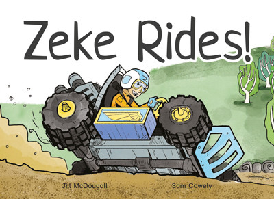 Zeke Rides front cover