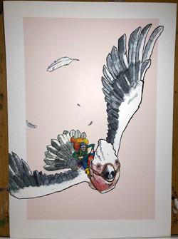 The Extreme Bird Print _A3