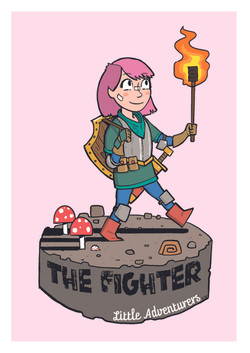 The Fighter A4 Print