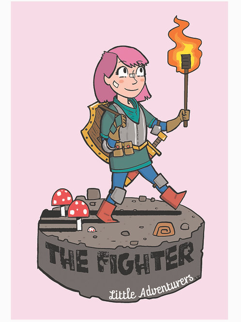 The Fighter Print