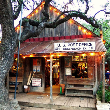 HEAD FOR THE HILLS IN FREDERICKSBURG, TEXAS