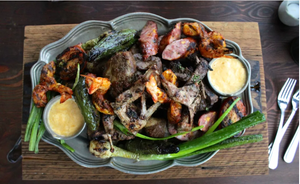 The Parrillada Familiar is a true feast.