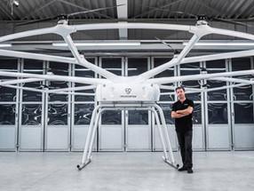Drone gigante inova o mercado de transporte carregando 200 kg por até 40km