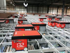 Sistema AutoStore otimiza armazéns