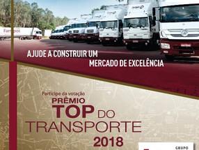 Grupo Farrapos no Top do Transporte 2018 – Há 25 anos ajudando a construir um mercado de excelência