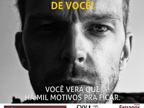 Grupo Farrapos adere ao Setembro Amarelo com o tema de campanha NÃO DESISTA DE VOCÊ