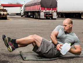 Rolling Strong é o mais novo aplicativo de saúde e bem-estar para motoristas