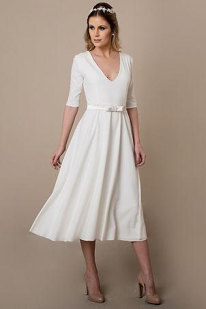 Vestido de Noiva Curto Ana