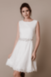 Vestido de Noiva Curto Thais