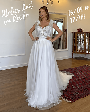 Vestido de Noiva - Atelier LUIT em Recif