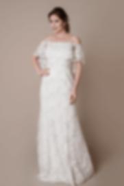 Vestido de Noiva Sereia Mayra Ombro a Om