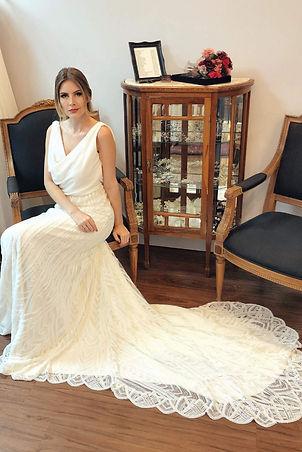 Vestido de Noiva Rebeca - Atelier LUIT.j