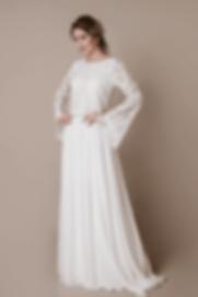 Vestido de Noiva Manga Longa Victoria.pn