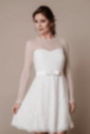 Vestido de Noiva Curto Sofia