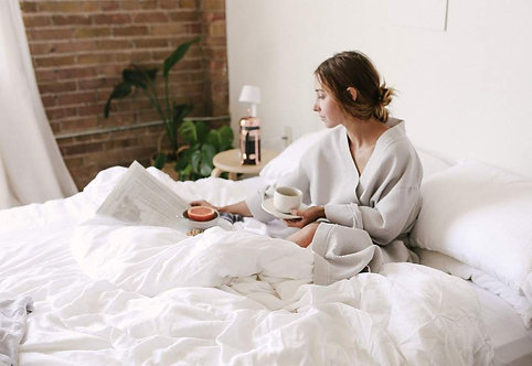 Silk Comforter By Cozy Earth