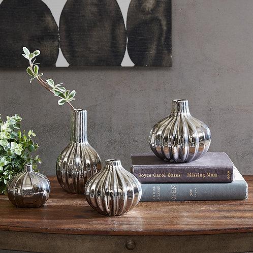 Bartlett Vase Set of 4 By Ink & Ivy