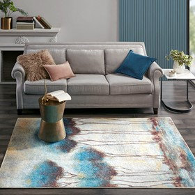 Gale Printed Matte Area Rug by Madison Park