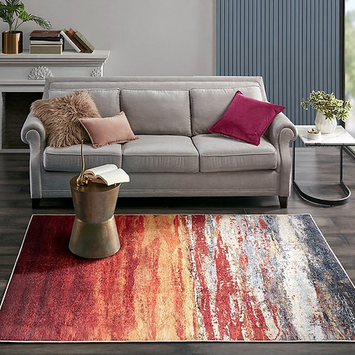 Daybreak Printed Matte Area Rug by Madison Park
