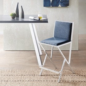 Obsidian Barstool by INK+IVY