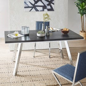 Obsidian Dining Table by INK+IVY