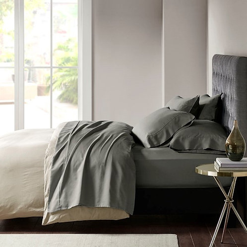 800 Thread Count Cotton Rich Sateen Sheet Set By Madison Park