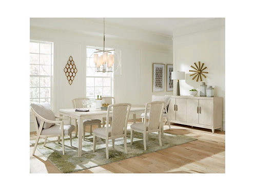 Lilly Rectangular Angular Dining Table By Riverside Furniture