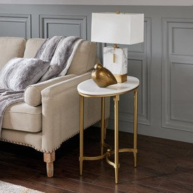Bordeaux Side Table by Madison Park Sign