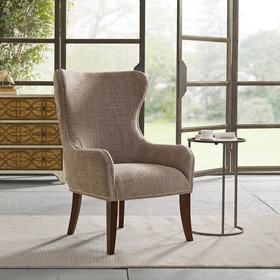 Hancock Button Tufted Back Accent Chair by Madison Park