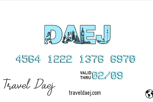 Travel Daej Gift Card