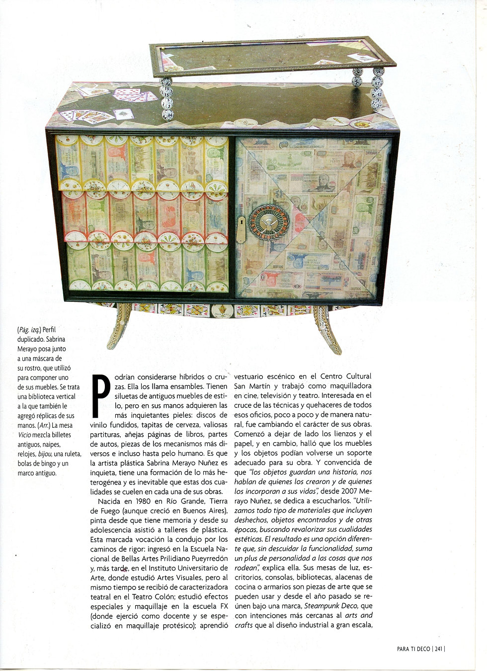 Sabrina Merayo Nunez Press  # Muebles Para Bijou