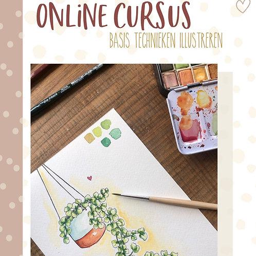 Online cursus 'Basis illustreren'