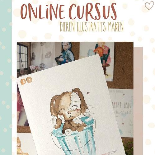 Online cursus 'Dieren tekenen'