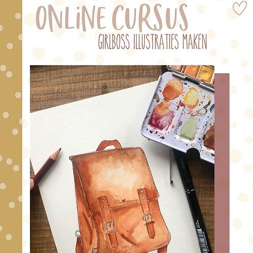 Online cursus 'Girlboss illustraties'