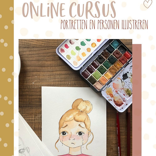 Online cursus 'Portret/personen'