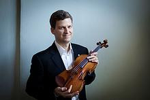 Violinist James Ehnes. Photo: Benjamin Ealovega