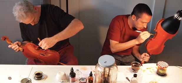 Jeff Phillips and Antoine Nédélec. Photo William Scott