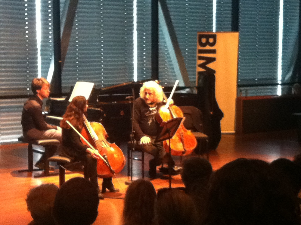 Mischa Maisky Cello Masterclass