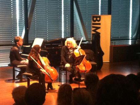 Mischa Maisky: 'Bach is turning in his grave'