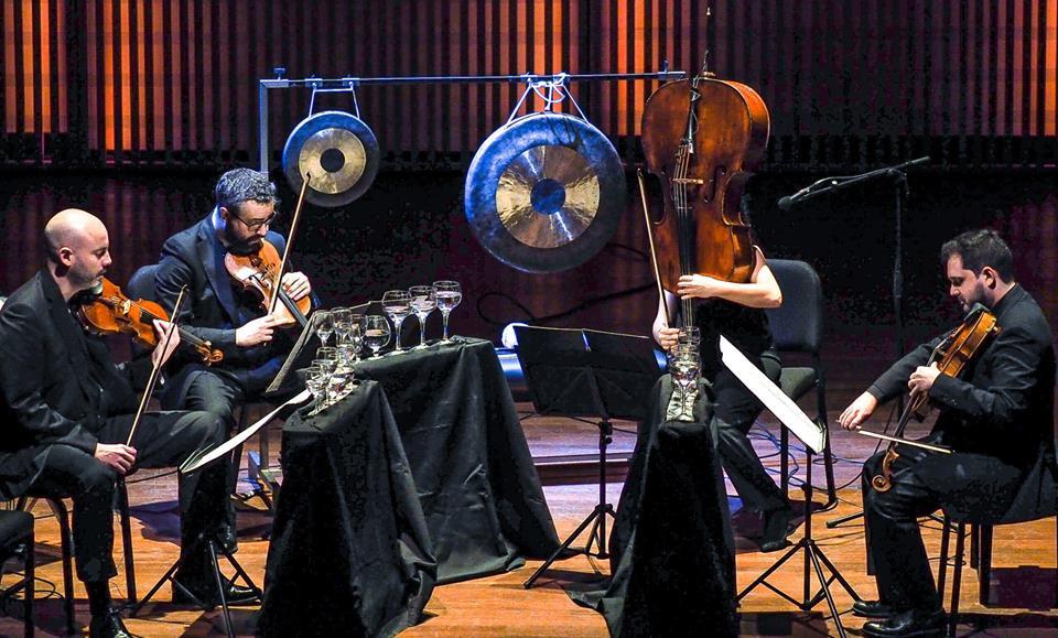 Quiroga Quartet performs Black Angels