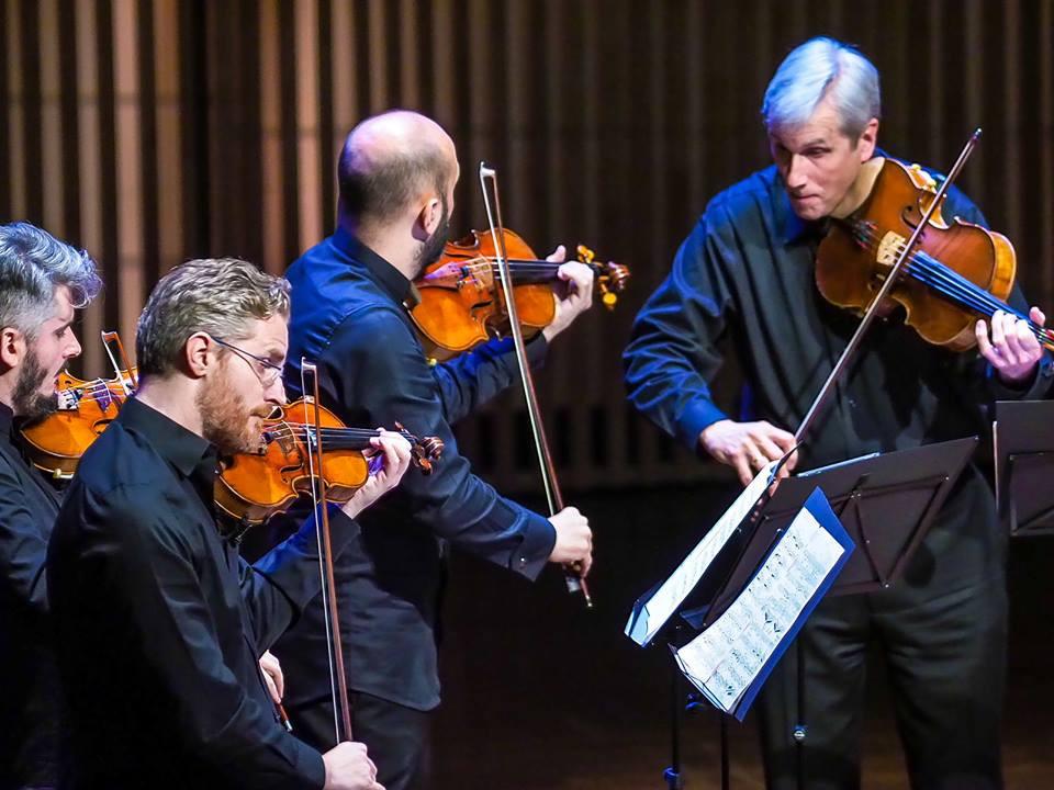 Laurence Dutton and Quartetto di Cremona
