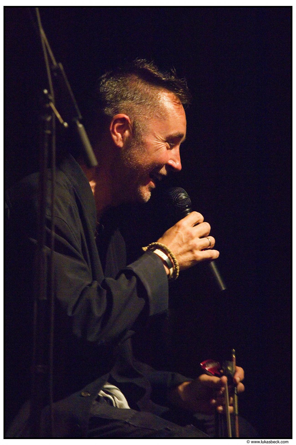Nigel Kennedy. Photo: Lukas Beck/EMI Classics