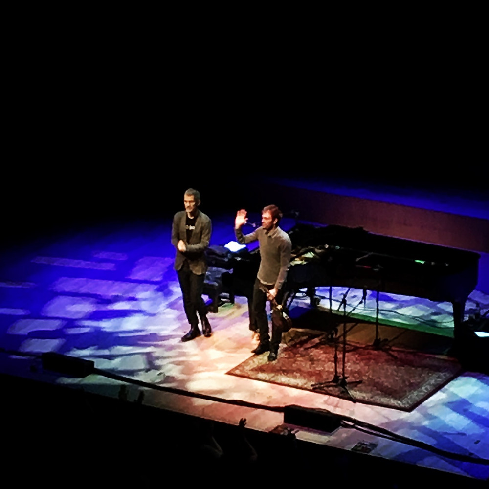 Chris Thile and Brad Mehldau, November at the Barbican