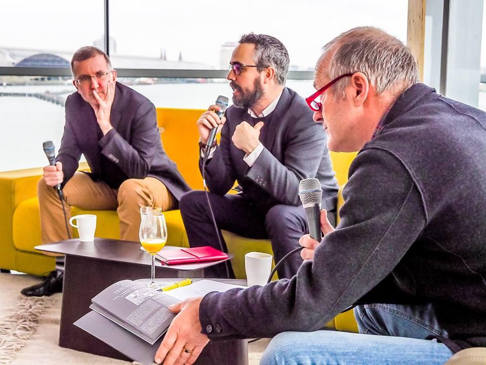 Coffee talk with Alex Ross and Cibrán Sierra Vázquez