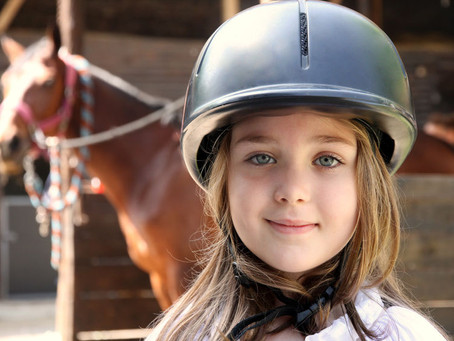 What gear do I need to safely ride a horse?