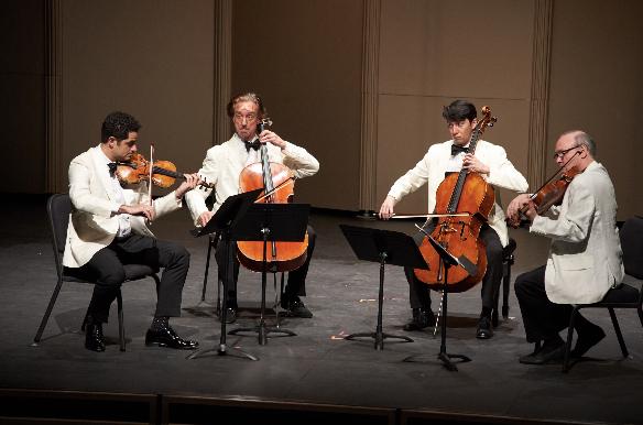 Arnaud Sussmann, David Finckel, David Requiro and Paul Neubauer