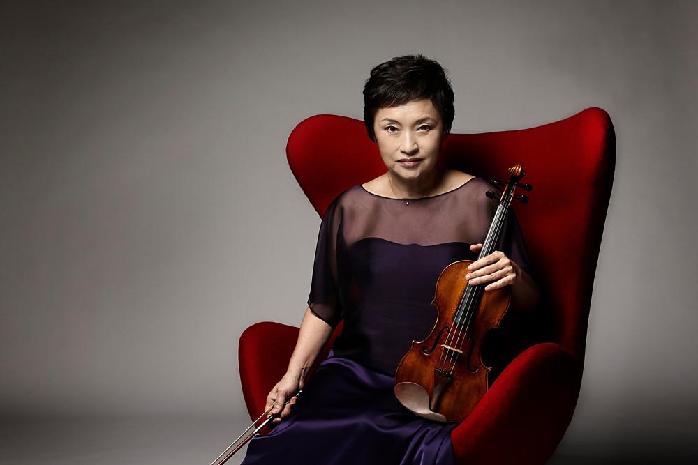 Kyung Wha Chung, photo credit: Kang Taewook
