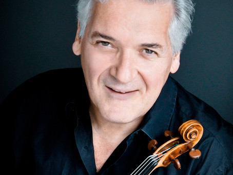 Pinchas Zukerman on how to change the world